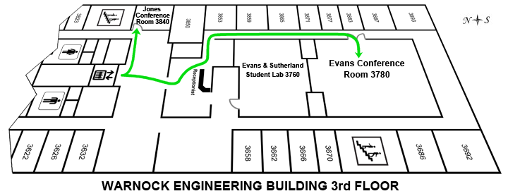 Warnock Engineering Building Floor Plan