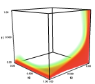 visualization of the quality volume for the bcc lattice