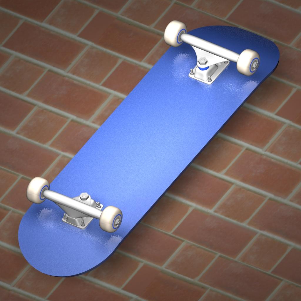 Painted Skateboard Trucks /paint/skateboard.jpg